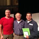 Joe Conrad (bewusst.tv), Dr. Dietrich Klinghardt und Ali Erhan auf dem Spirit of Health 2014 MMS-Workshop Spezial in Hannover