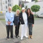 Adrian Jones, Carolina Lloyd, Jim Humble und Miriam Hoffmann (Spirit of Health 2014)
